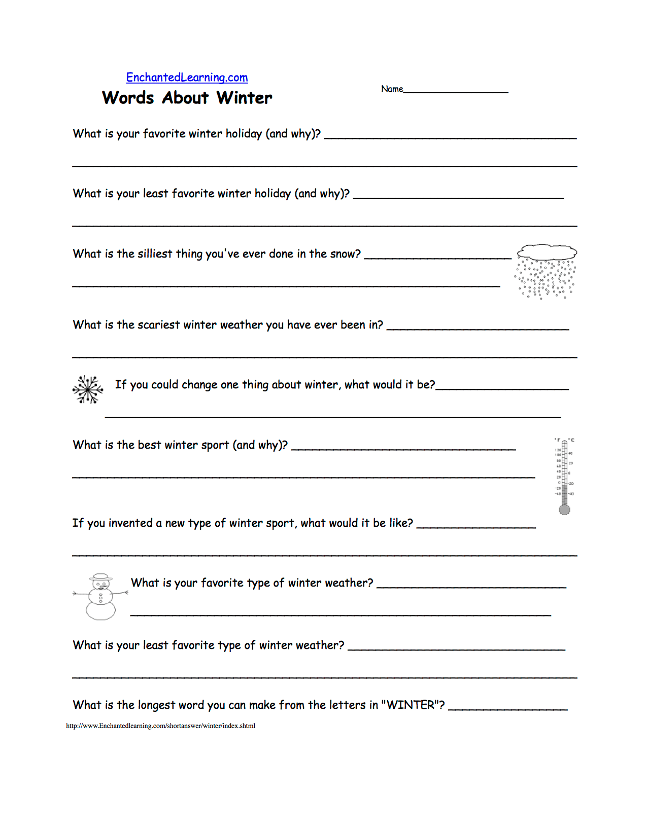 Global Warming In Your State Worksheet