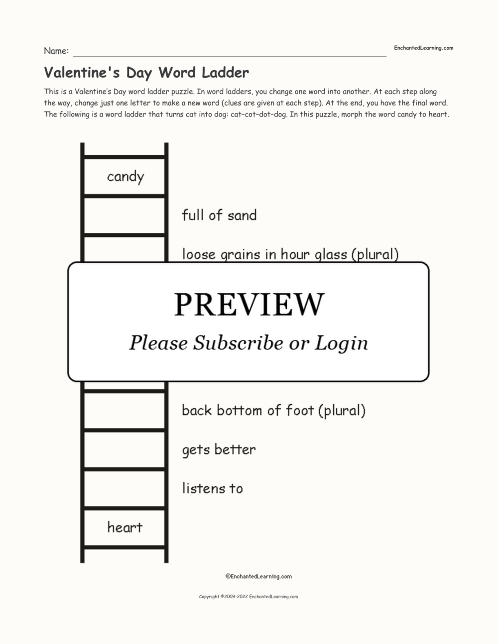 medium resolution of Daily Word Ladders Worksheets   Printable Worksheets and Activities for  Teachers