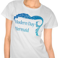 Women's clothing for mermaids