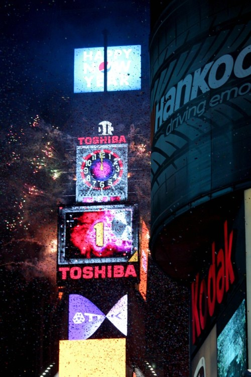 NYE Countdown In Times Square