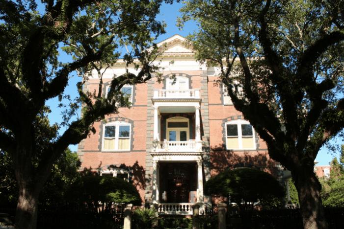 Calhoun Mansion Charleston, The Notebook