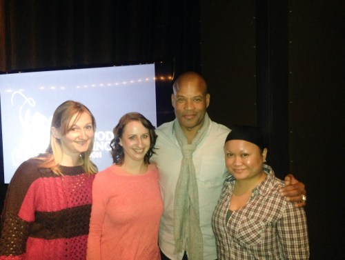 NFL In London At The Hippodrome Casino: Meeting Shaun Gayle