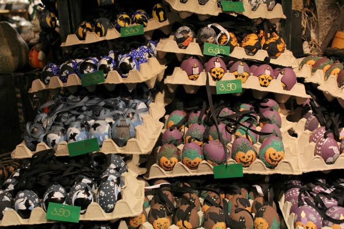 Halloween Eggs At Christmas In Salzburg