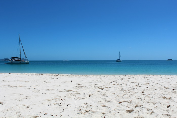 Whitehaven Beach On The Sand