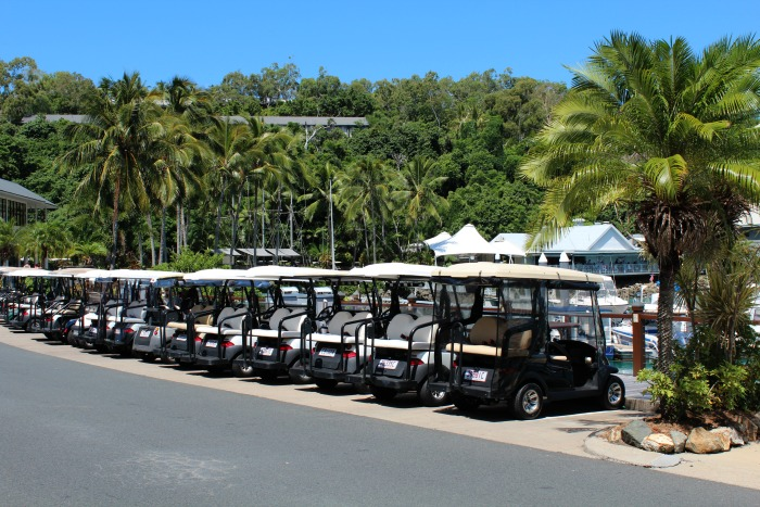 Buggies On Hamilton Island