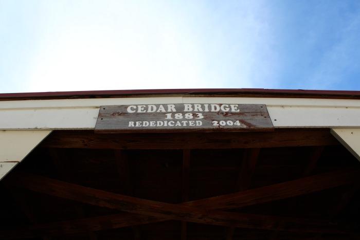 Cedar Bridge, Winterset, Iowa