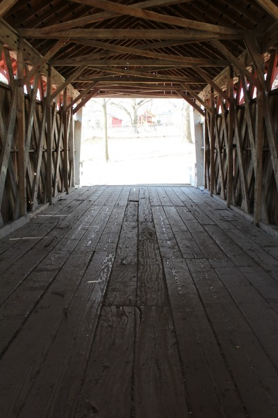 Cutler-Donahoe Bridge Interior