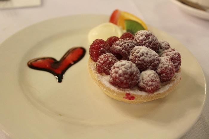 Berry Tart At Hopetoun Tea Rooms