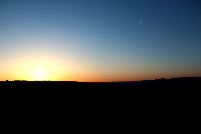 Wahweap Overlook Sunset