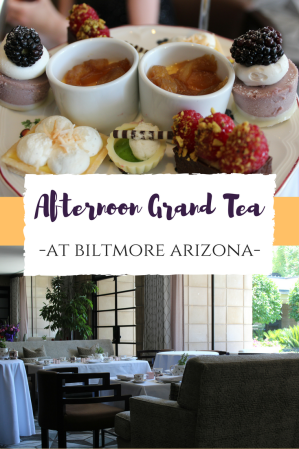 Afternoon Grand Tea At Biltmore Arizona Phoenix