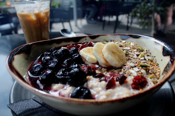Maple Porridge At Maple & Clove Canberra