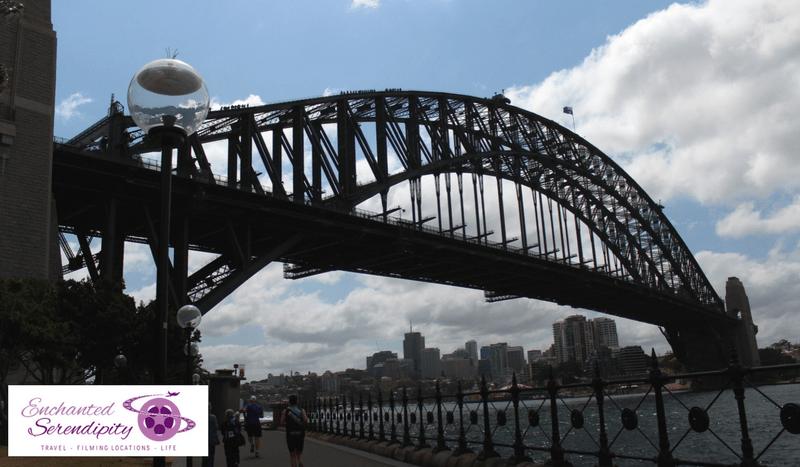 Sydney Harbour Bridge Hickson Reserve