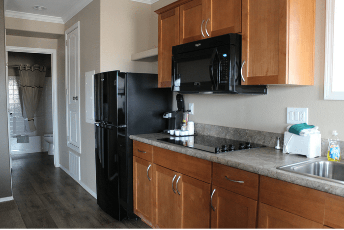 Goulding's Lodge One Bedroom Suite With Kitchen Monument Valley Kitchen