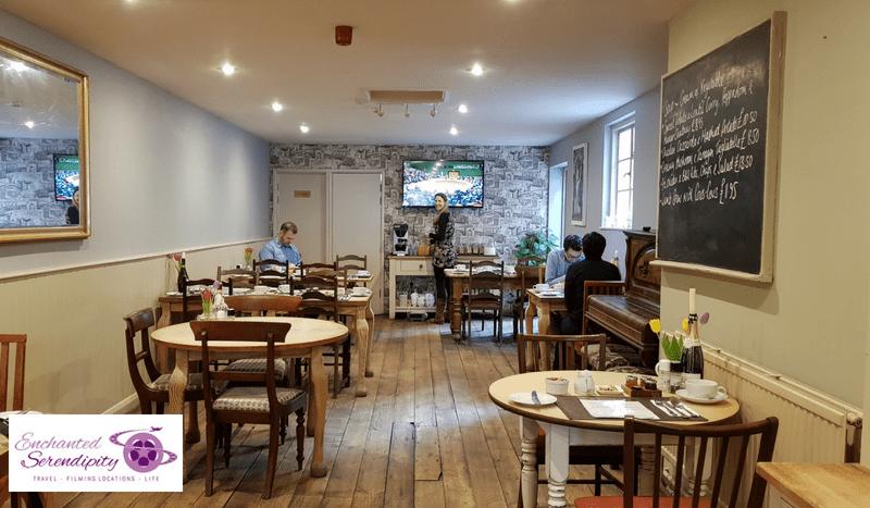 Rising Sun Inn Bath Breakfast Room