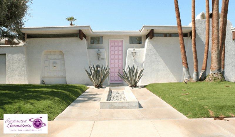 California Roadtrip Palm Springs The Pink Door