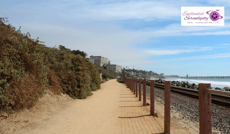 California Roadtrip San Clemente Pedestrian Walkway