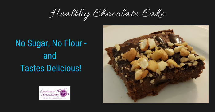 Healthy Chocolate Cake – No Sugar, No Flour (& Tastes Delicious!)