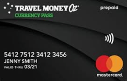 Travel Money Oz Travel Card