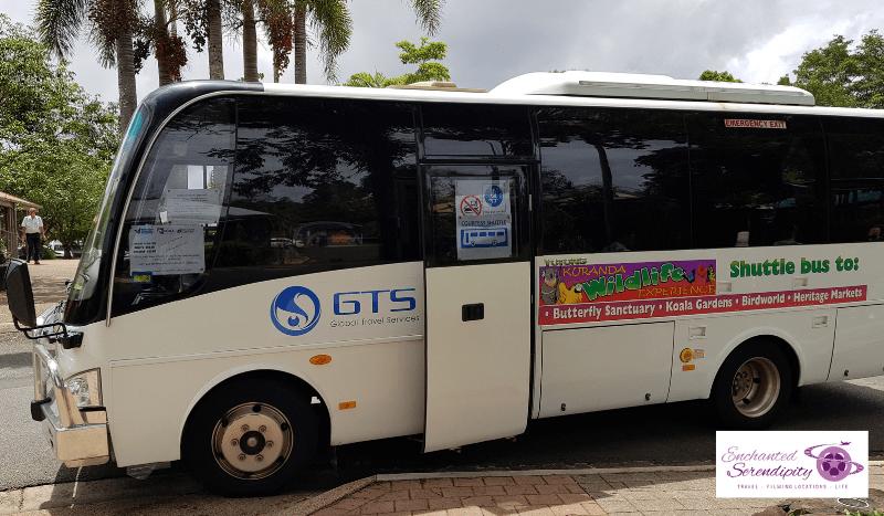 Cairns Skyrail Cablecar Kuranda Shuttle
