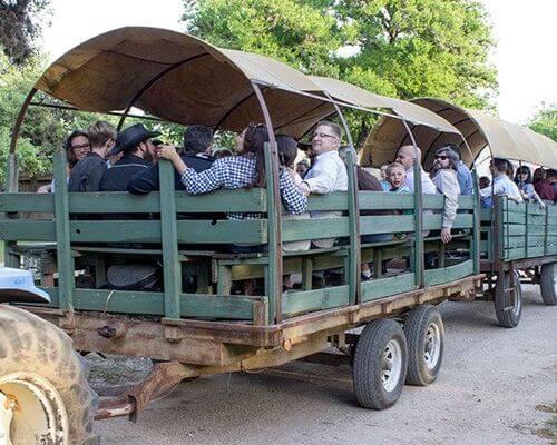 Wagon Ride at ESR