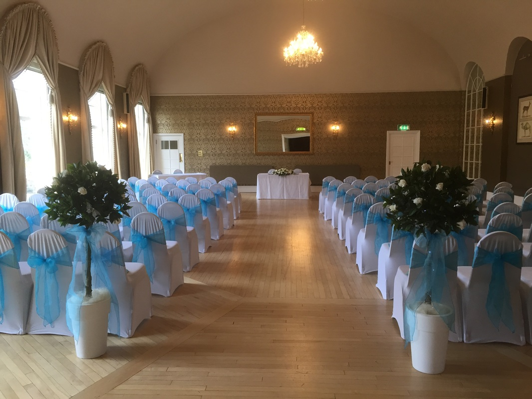 chair covers wedding ayrshire desk rug bay trees | midway media