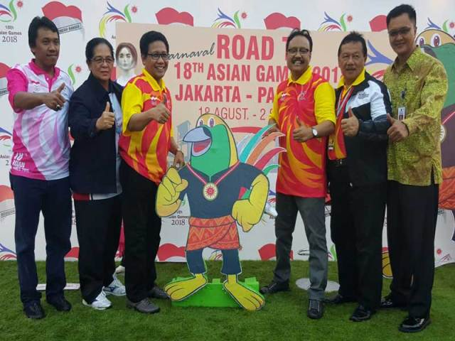 Asian Games 2018 Menggema di Surabaya