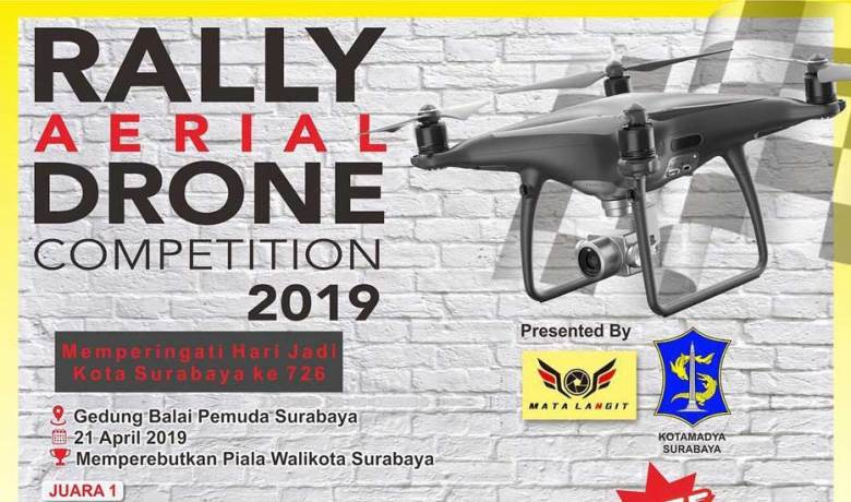 Rally Areal Drone Competition 2019 di Balai Pemuda