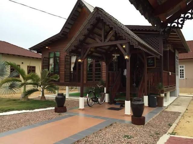 rumah kayu solid  EncikShinocom
