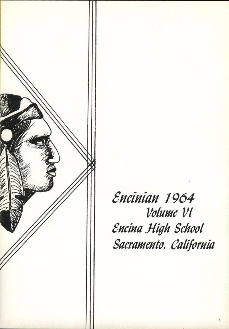 1964 Encinian yearbook
