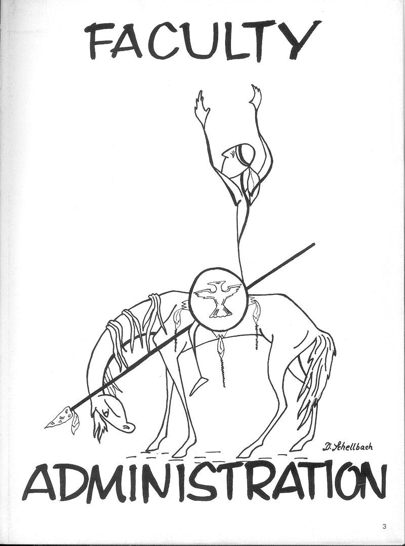 1966 Encinian yearbook