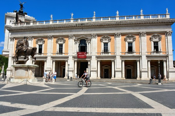 Capitoline Museums In Rome Italy - Encircle