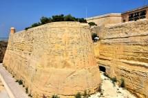 St. John Bastion And Cavalier In Valletta Malta