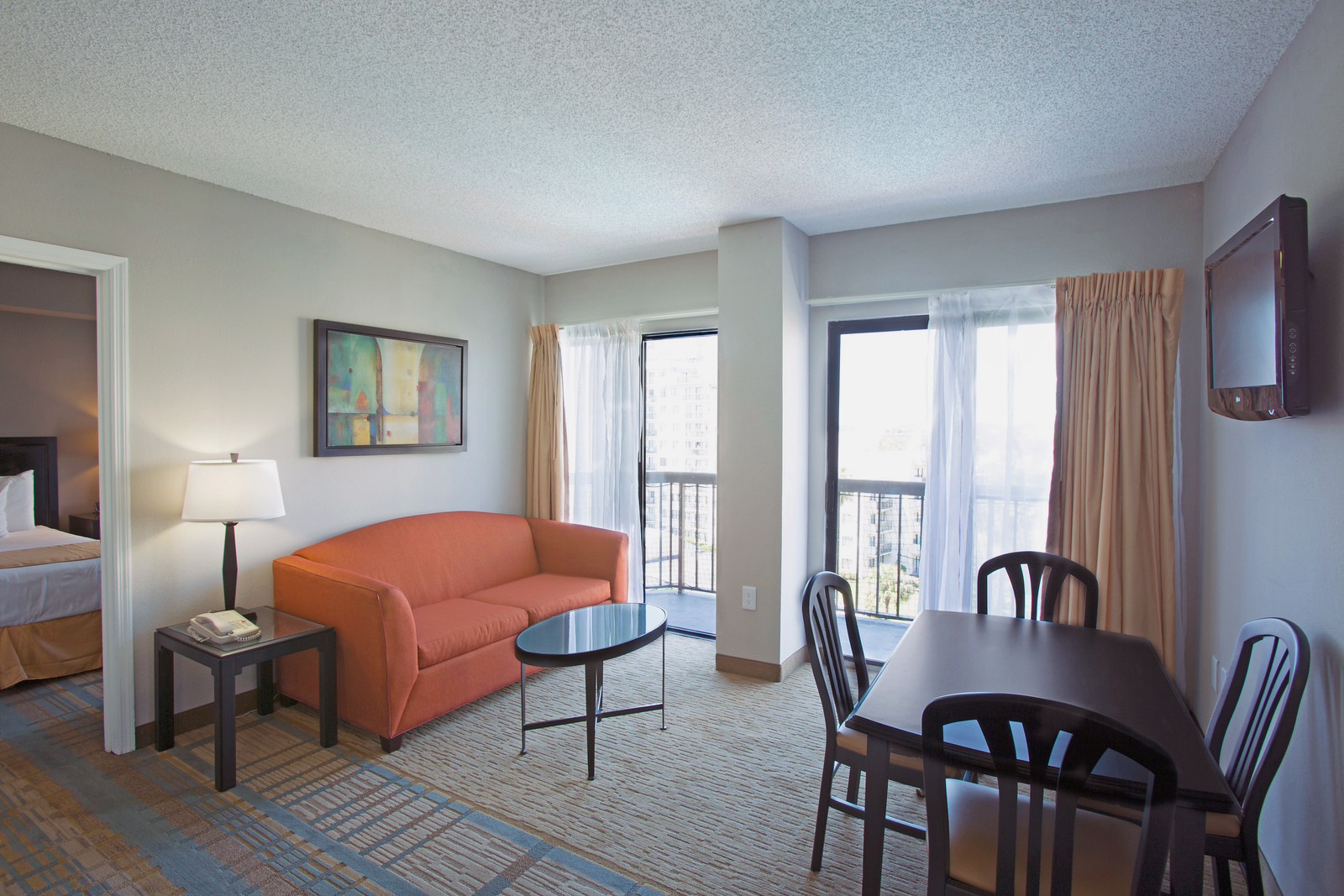 hotels with full kitchens in orlando florida kitchen throw rugs washable hotel suites suite the enclave studio features amenities