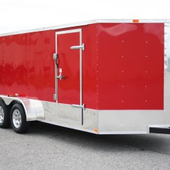 Top Hat Trailer Wiring Diagram Software Functional Control Enclosed Utility Cargo Car Race Trailers For Sale