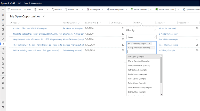 User Experience Made Easier with Enhanced Filtering in Dynamics 365!