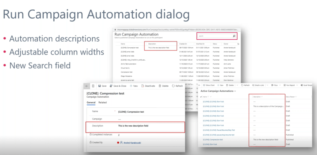 enCloud9 | Microsoft Dynamics 365 CRM Consultants 2021 ClickDimensions Product Roadmap Previews Features ClickDimensions