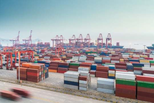 an image of a port where metal tariffs will likely have a massive impact.