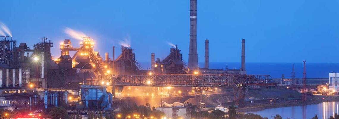 an image of a massive steel mill, material test report, Why is an MTR important