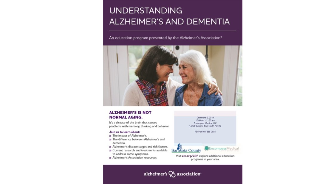 December Education Event - Alzheimers