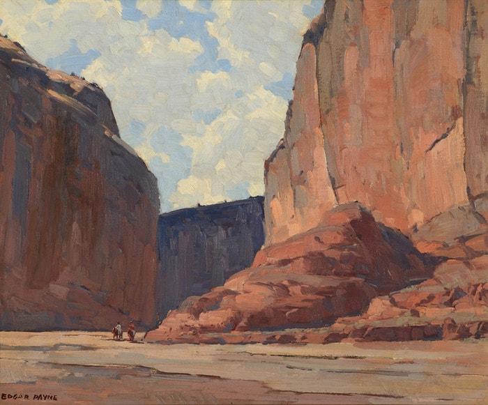 Canyon de Chelly by Edgar Payne