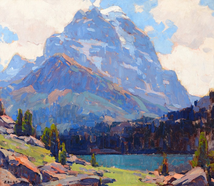 Shadowed Peaks by Edgar Payne