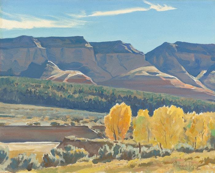 Peaceful Morning by Maynard Dixon