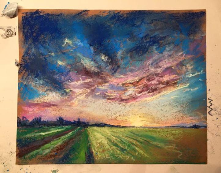 Original Sara Elliott Painting