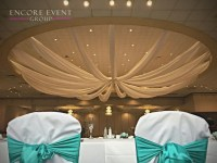 Andiamo's Warren Wedding Ceiling Draping | Encore Event Group