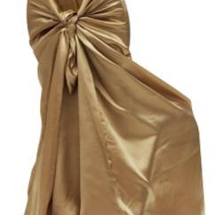 Gold Chair Covers To Rent Patio Leg Protectors Satin Antique Univ Cover Rental Shreveport La Where In Bossier City Louisiana