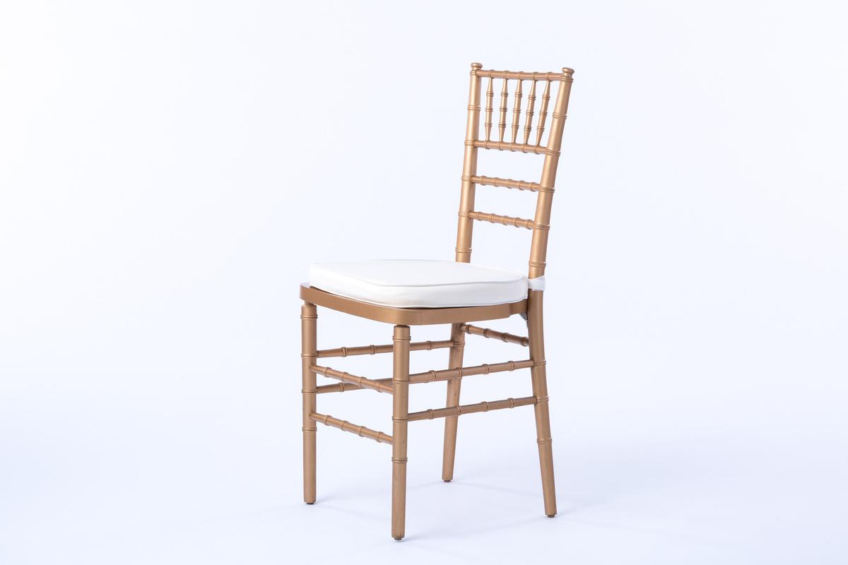 chair design gold baby high portable feeding booster seat chiavari rental encore events rentals