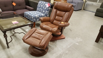 manwah sofa factory beds costa del sol encore home furnishings search results eve cognac leather recliner with ottoman squared base