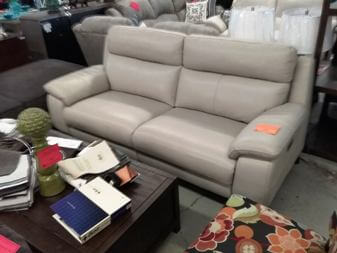 manwah sofa factory full leather encore home furnishings search results htl light silver power reclining with adjustable headrests