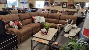 manwah sofa factory tulsa leather encore home furnishings search results vacaro mocha 5 piece sectional with power recliners headrests