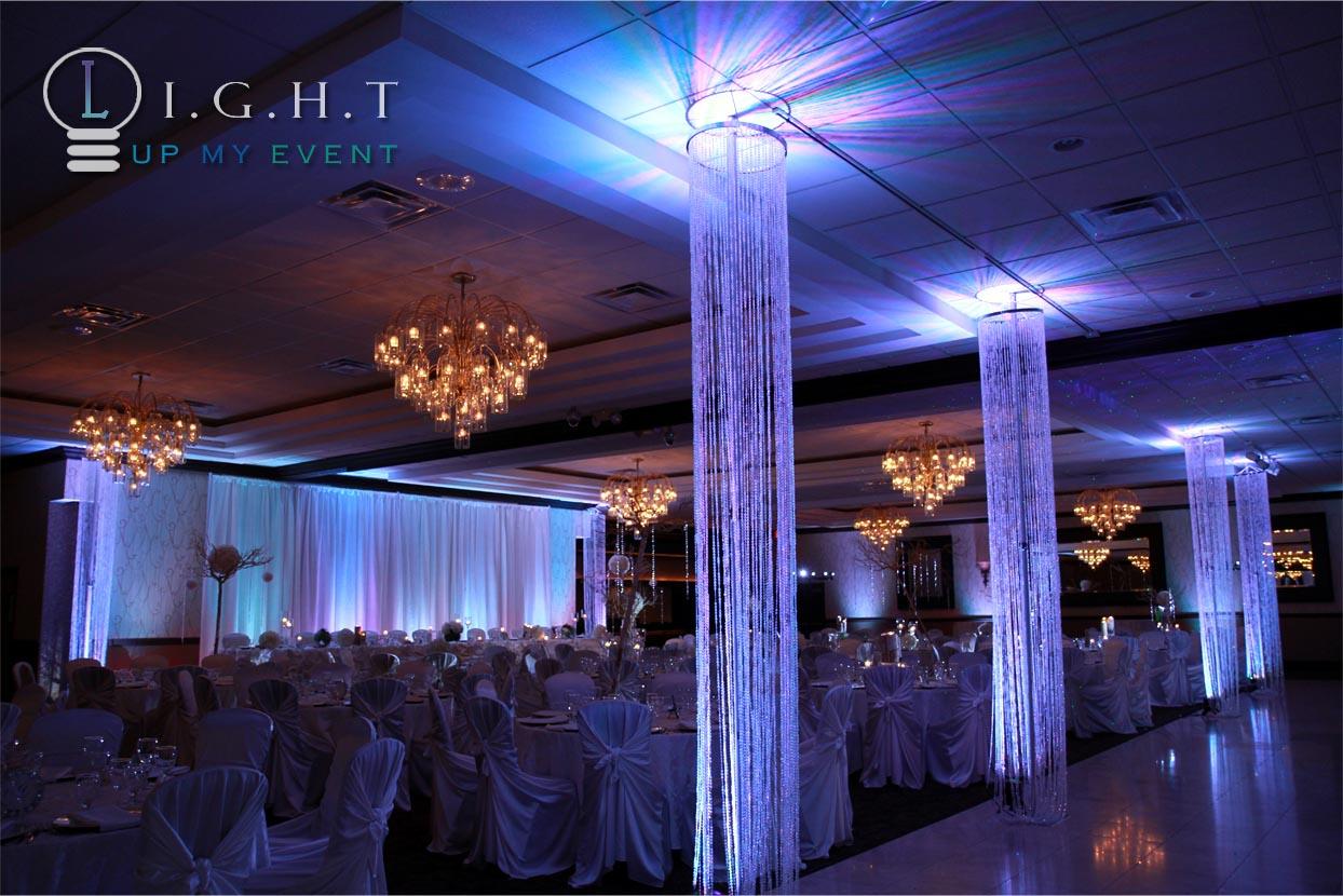 Michigan Wedding Uplighting Design